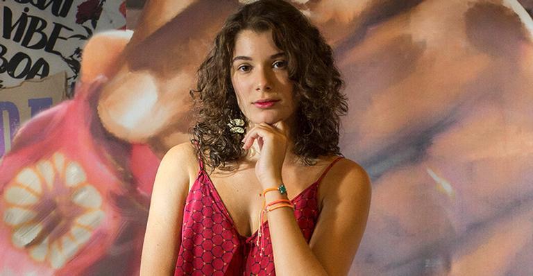 Giulia Bertolli, filha de Lilia Cabral, em Malhação (Foto: Globo/ Estevam Avellar)