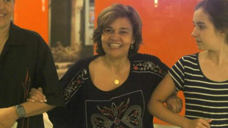 Claudia Rodrigues passou por uma difícil situação (Foto: Adriane Bonato/Arquivo pessoal)