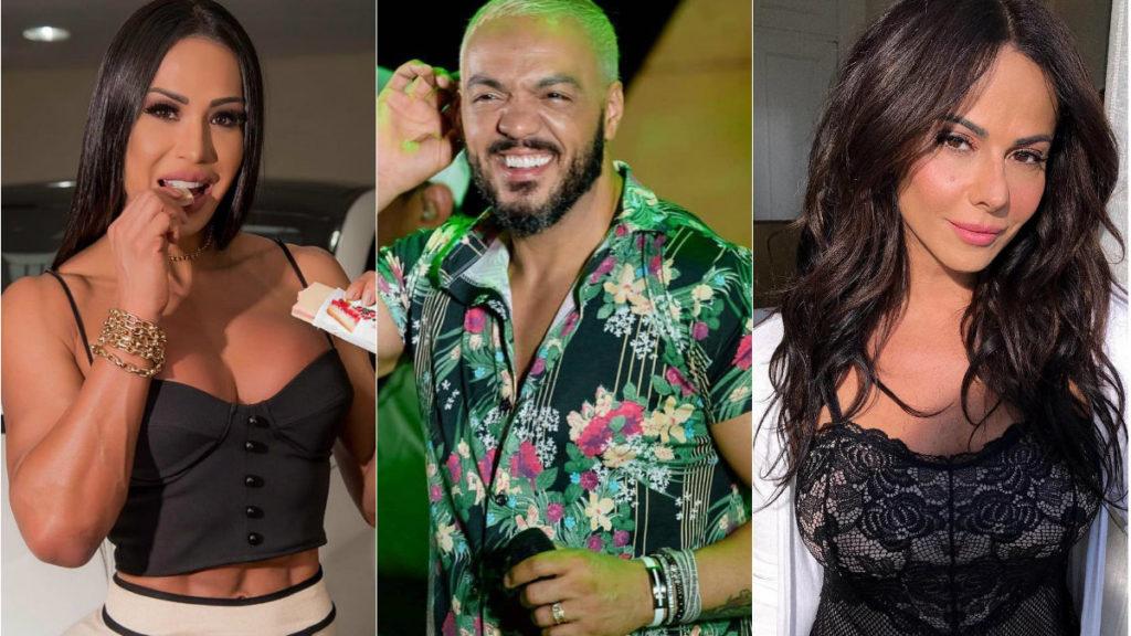 Gracyanne Barbosa, Belo e Viviane Araújo (Foto: Divulgação)