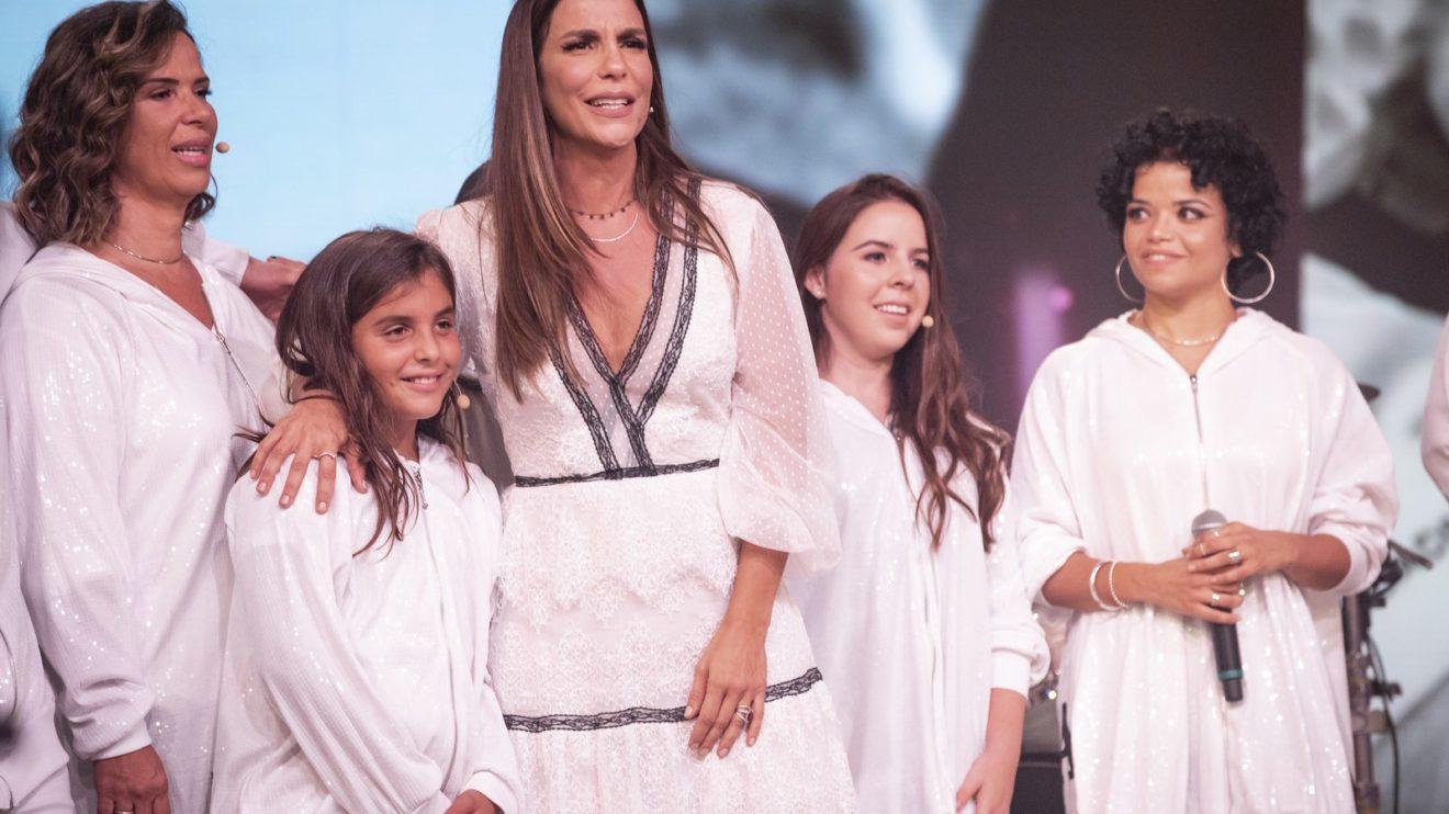 Marcelo, filho de Ivete Sangalo, surpreendeu a cantora (Foto: Isabella Pinheiro/Gshow)