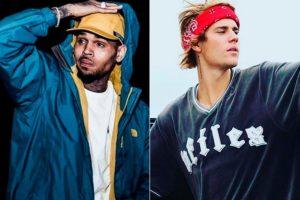 Justin Bieber e Chirs Brown (Foto: Reprodução)