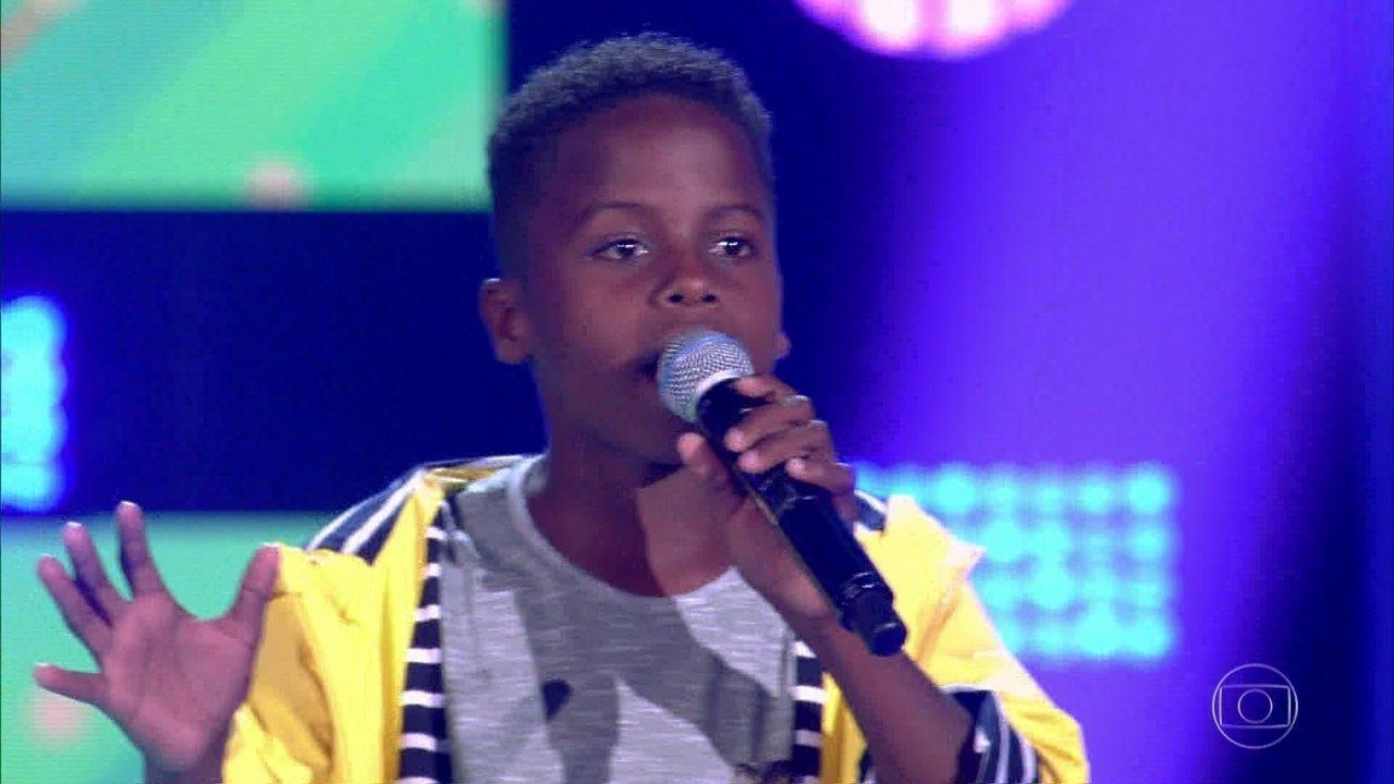 Jeremias foi o grande vencedor da mais nova temporada do The Voice Kids (Foto: Reprodução)