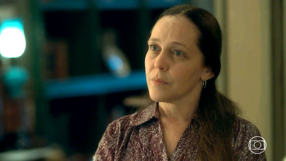 Judith (Isabela Garcia) em cena de O Sétimo Guardião (Foto: Reprodução/Globo)