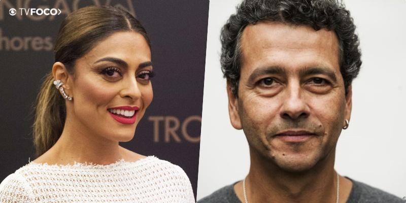 Juliana Paes e Marco Palmeira são protagonistas da nova novela A Dona do Pedaço