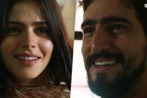 Laila (Julia Dalavia) e Jamil (Renato Góes) são protagonista de Órfãos da Terra