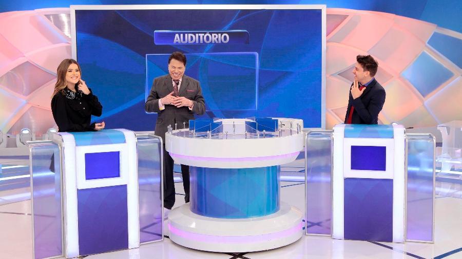 Maisa Silva no Jogo dos Pontinhos com Silvio Santos (Foto: Divulgação)