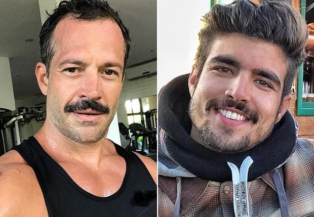 Malvino Salvador e Caio Castro viveram um casal gay em A Dona do Pedaço (Foto: Reprodução/ Instagram)