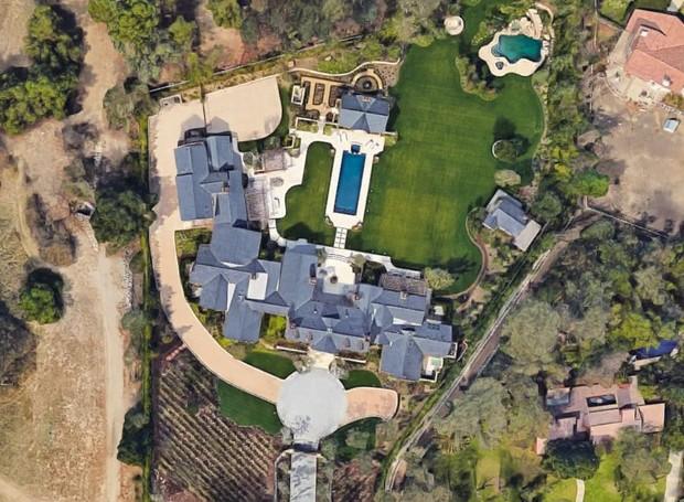 Casa de Kim Kardashian (Foto: Reprodução)