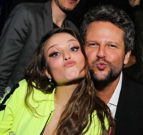 Larissa Manoela e Selton Mello (Foto: Divulgação)