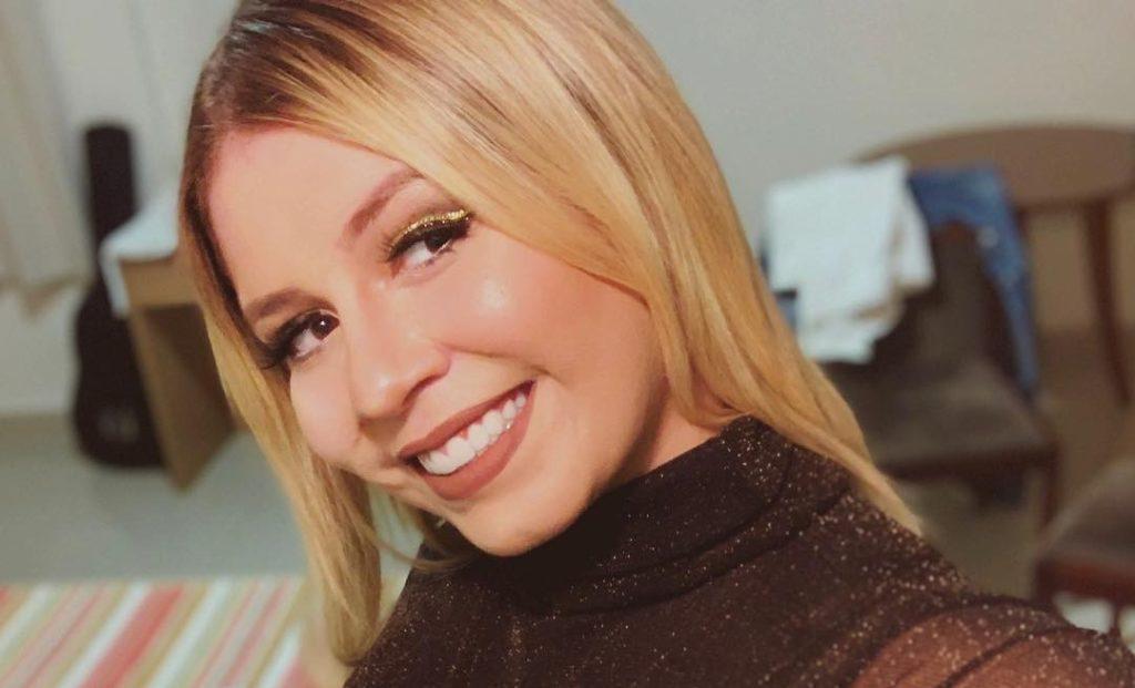 A cantora Marília Mendonça