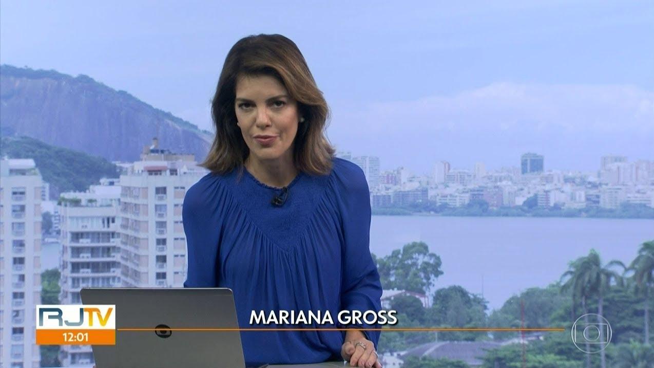 Jornalista da Globo mostrou tudo (Foto: Reprodução)