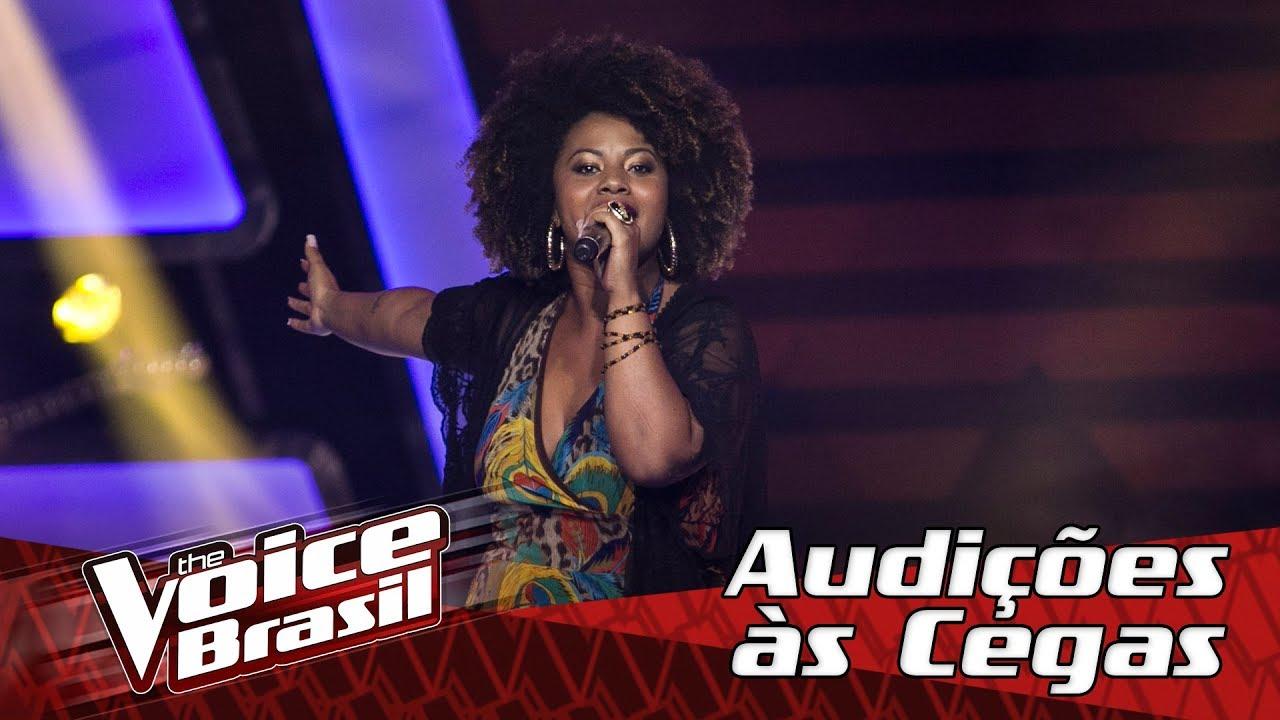 Cantora no The Voice, da Globo (Foto: Reprodução)
