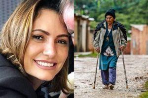 Michelle Bolsonaro e a avó humilde (Cristiano Mariz/VEJA)