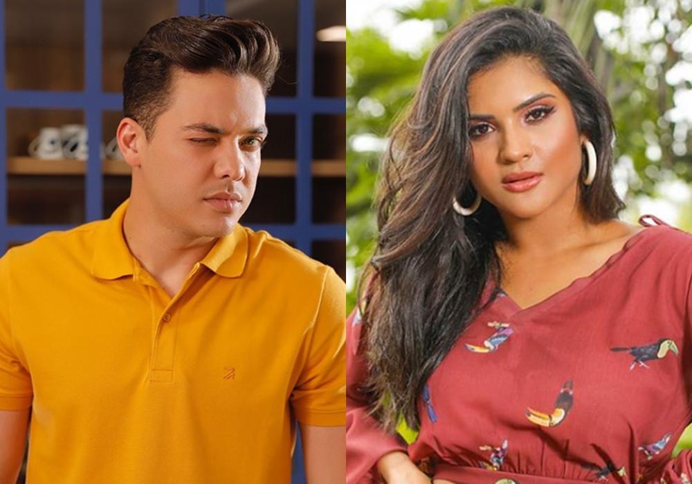 O famoso cantor, Wesley Safadão e sua ex-mulher Mileide Mihaile. ficam cara a cara no tribunal (Foto: Reprodução/Instagram/Montagem)
