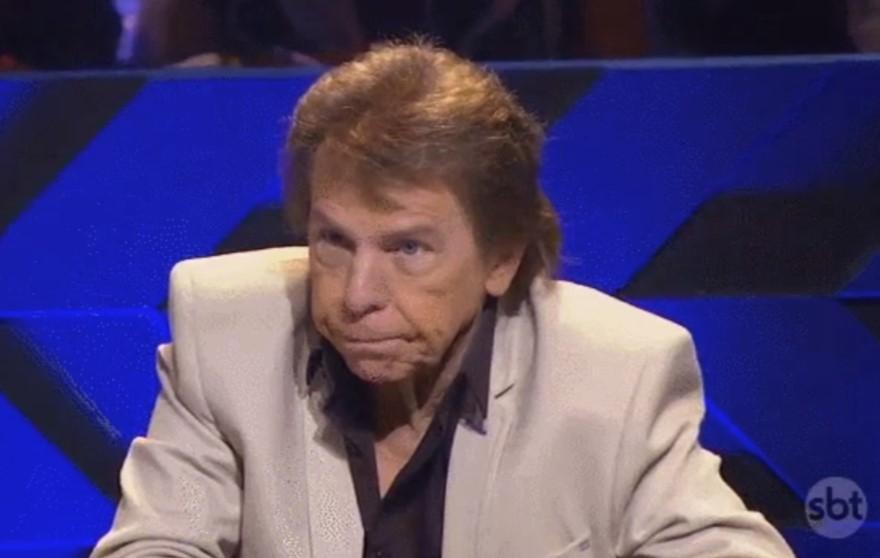 O apresentador Nelson Rubens do TV Fama (Foto: Reprodução)