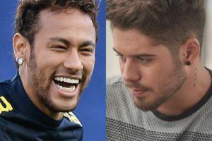 Neymar deixou Zé Felipe com a cara no chão (Foto: Reprodução)
