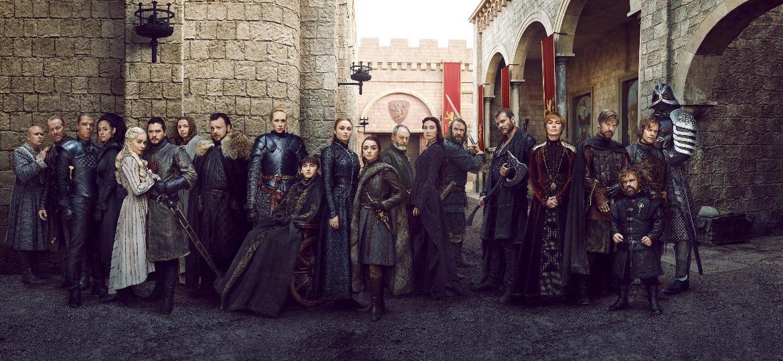 Elenco Game of Thrones (Foto: Reprodução)