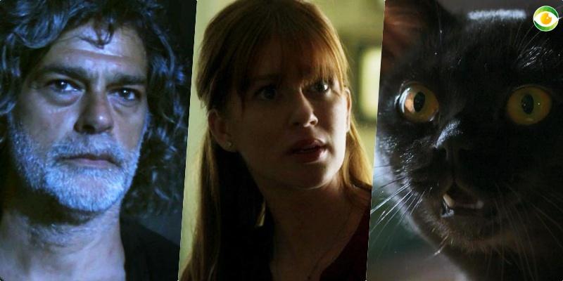O Sétimo Guardião terá cena entre Murilo (Eduardo Moscovis), León e Luz (Marina Ruy Barbosa)