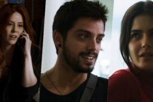 Bruno (Rodrigo Simas) será traído por Valéria (Bia Arantes) e investirá em Laila (Julia Dalavia) em Órfãos da Terra
