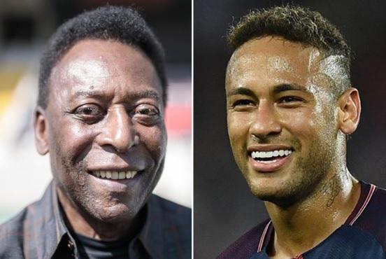 Pelé e Neymar