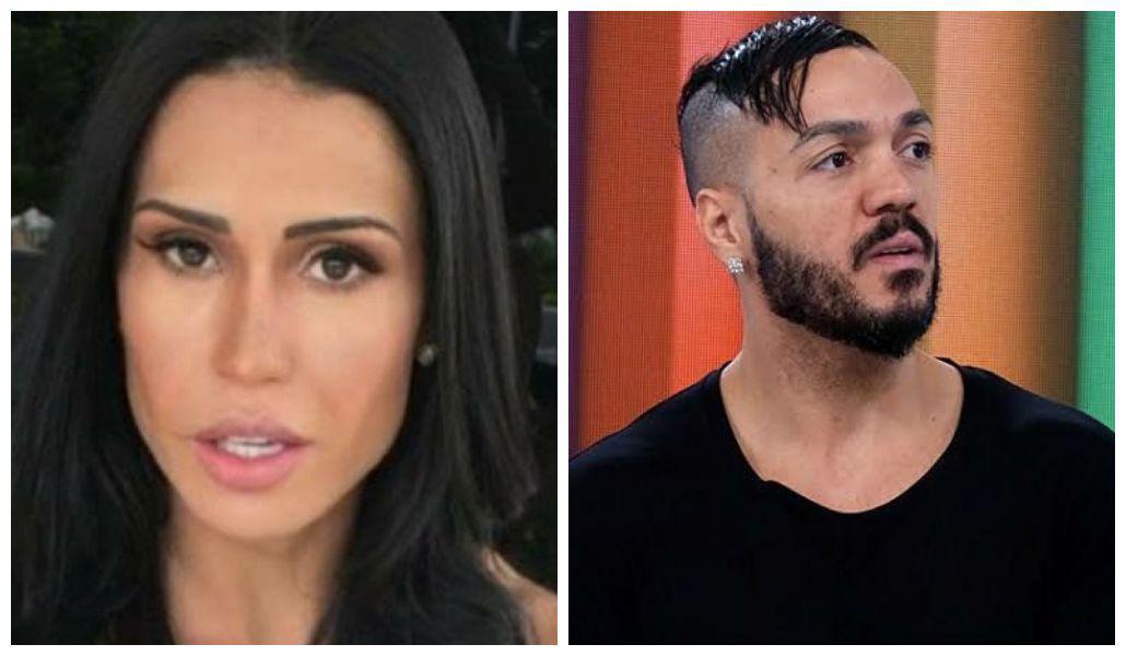Gracyanne Barbosa falou sobre o relacionamento de Belo com Viviane Araújo  (Foto: Reprodução)