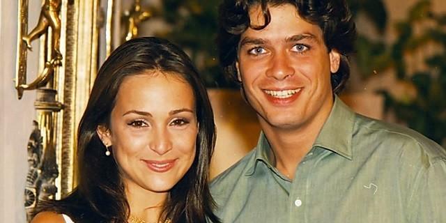 Gabriela Duarte e Fábio Assunção viveram par romântico na novela Por Amor