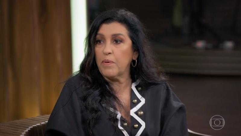 Regina Casé no Conversa com Bial (Foto: Reprodução/Globo)