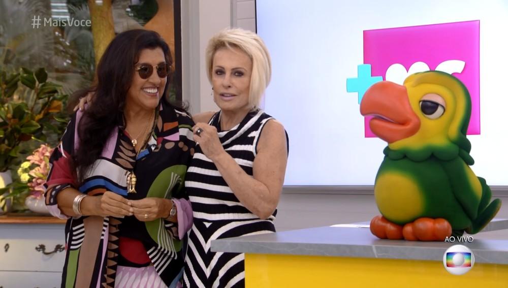Ana Maria Braga e Regina Casé (Foto: Reprodução)