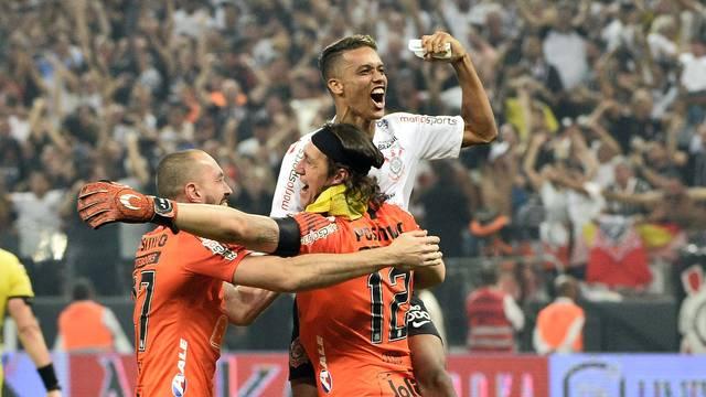 Corinthians conquistou o tricampeonato paulista e fez a Globo explodir em audiência (Foto: Reprodução/GloboEsporte.com)
