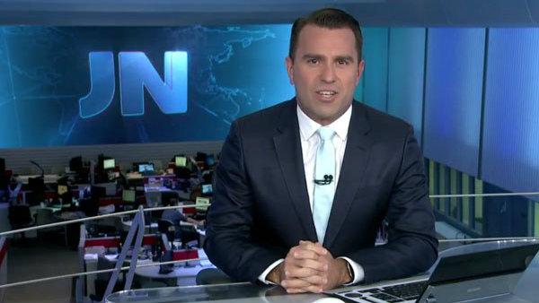Rodrigo Bocardi passa a comandar o Jornal Nacional no lugar de William Bonner (Foto: Reprodução/ Globo)
