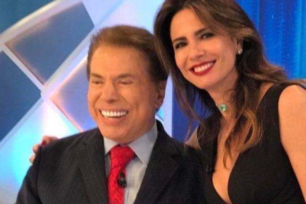 Silvio Santos e Luciana Gimenez (Foto: Reprodução)