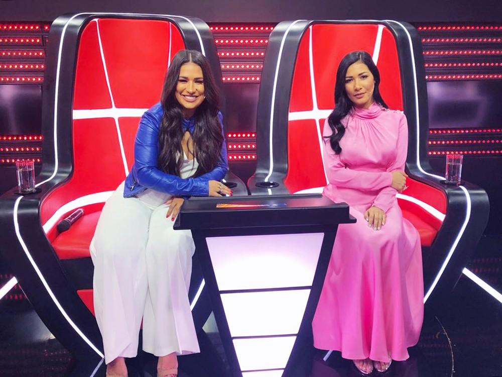 Simone & Simaria apostam em looks cheios de estilo para e semifinal do 'The Voice Kids' — Foto: Paula Santos/ Gshow