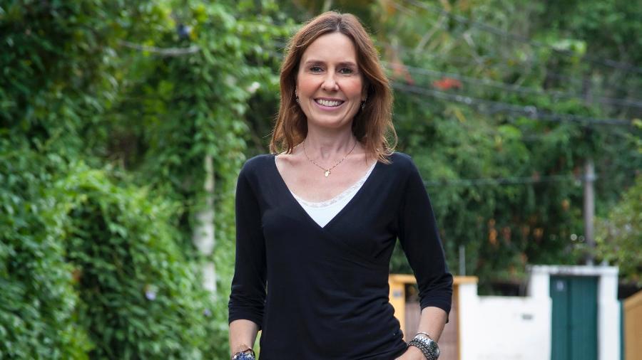 Susana Naspolini, repórter da Globo é afastada Às pressas (Foto: Divulgação)