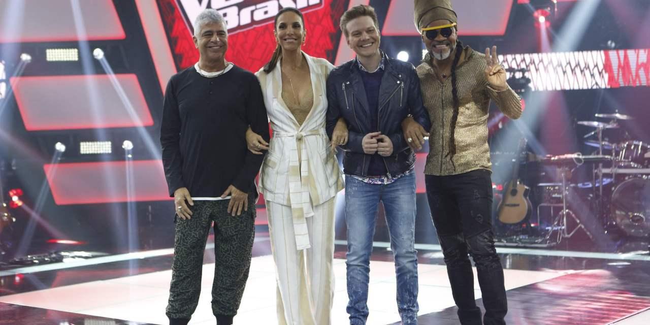 Lulu Santos, Ivete Sangalo, Michel Teló e Carlinhos Brown (Foto: Divulgação/TV Globo)