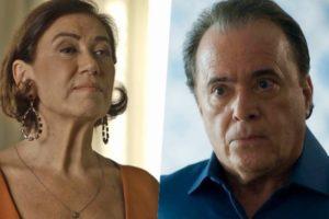 Inimigos, Valentina (Lilia Cabral) e Olavo (Tony Ramos) se enfrentarão em O Sétimo Guardião