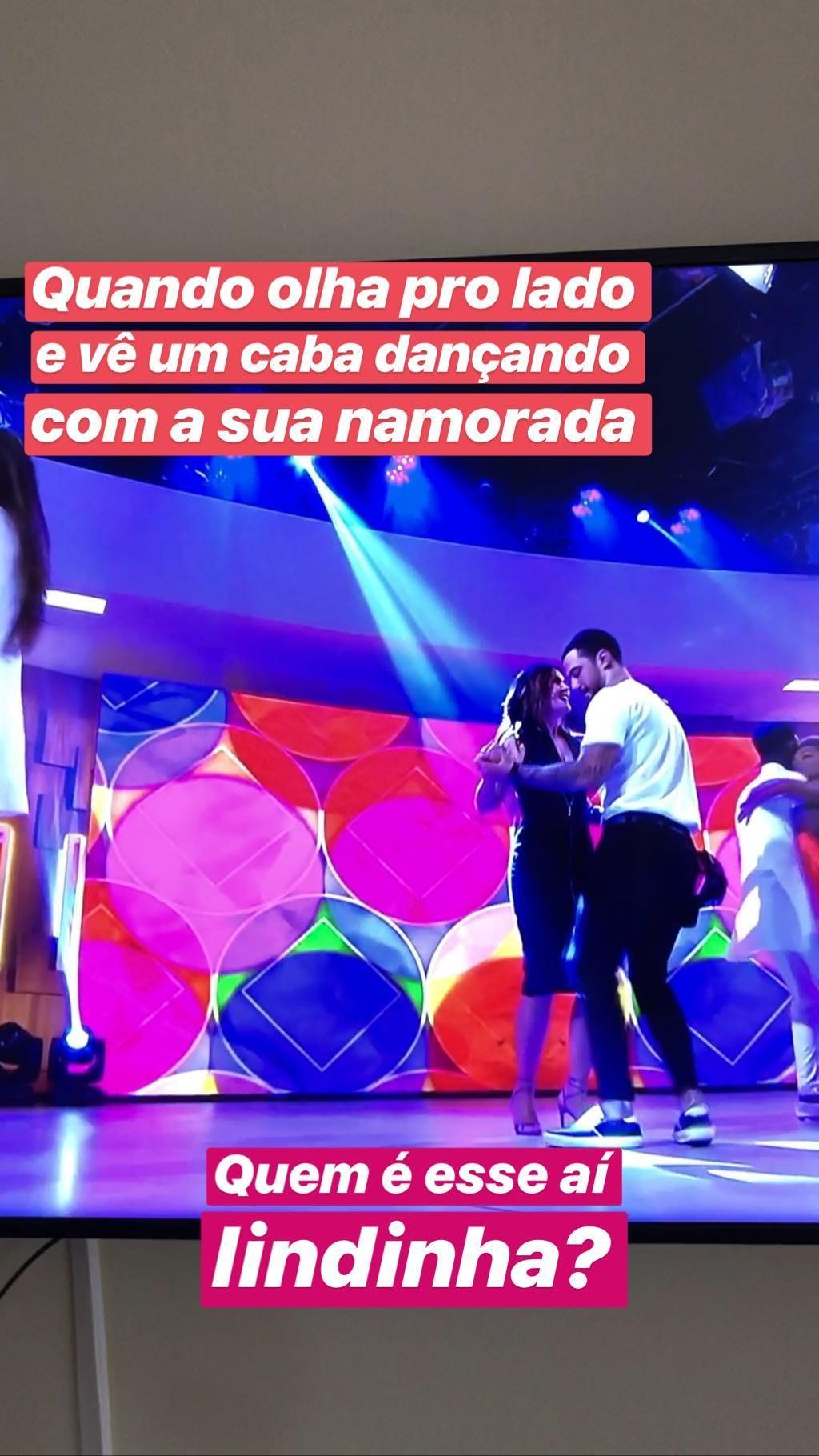 Fátima Bernardes e Felipe Titto (Foto: Reprodução/Instagram)