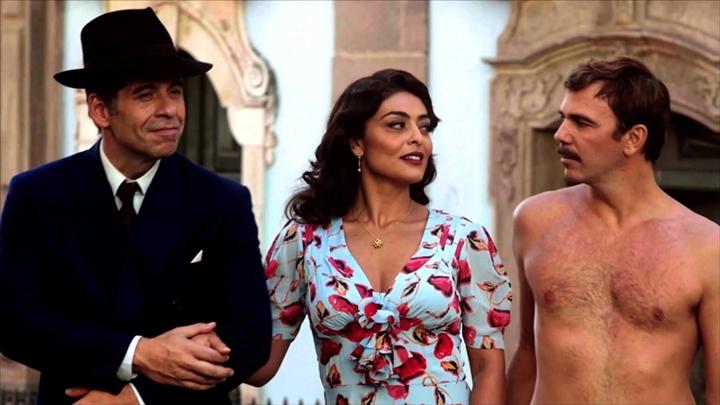 Leandro Hassum, Juliana Paes e Marcelo Faria protagonizaram a versão mais recente de Dona Flor e Seus Dois Maridos no cinema brasileiro. (Foto: Reprodução)