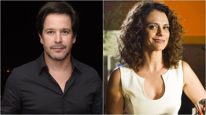 Murilo Benício e Malu Galli serão um casal em Amor de Mãe. (Foto: Montagem/Cesar Alves/TV Globo)