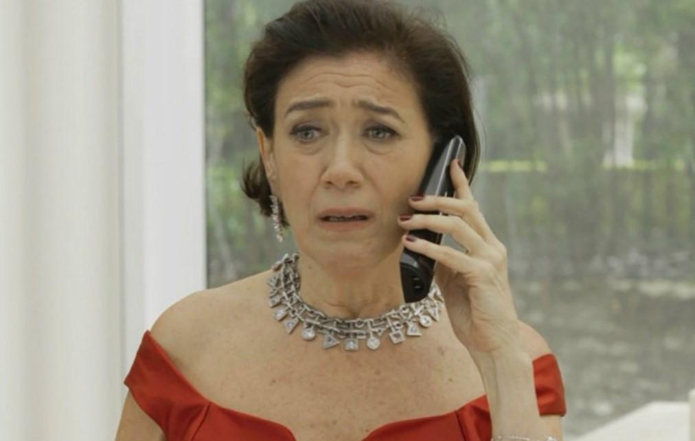 Valentina em cena da novela das 21h da Globo, O Sétimo Guardião (Foto: Reprodução)