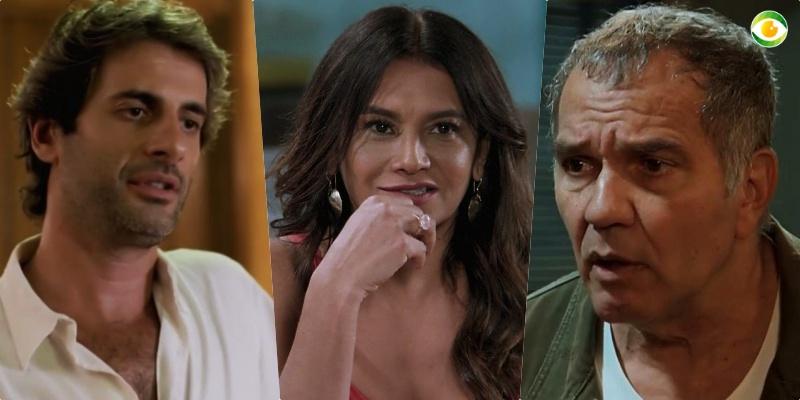 Janaína (Dira Paes) será abandonada por Herculano (Humberto Martins) e ficará com Raimundo (Flávio Tolezani) em Verão 90
