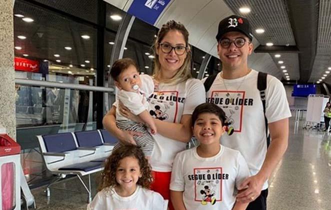 Filhos de Wesley Safadão estão internados com pneumonia - (Reprodução/Instagram)