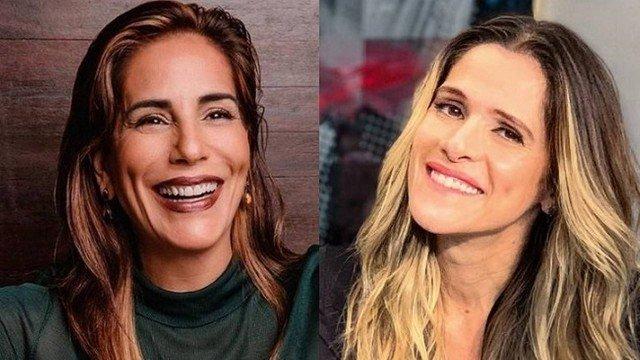 Glória Pires e Ingrid Guimarães brigaram feio (Foto: Reprodução)