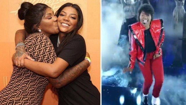 Ludmilla recebe apoio da mãe após performar como Michael Jackson (Foto: Divulgação)