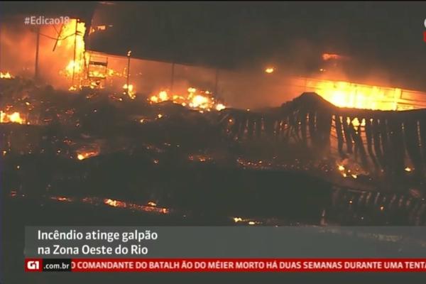 Globo tem incêndios no estúdios; funcionários se apavoram e pânico toma conta da situação Foto: Reprodução