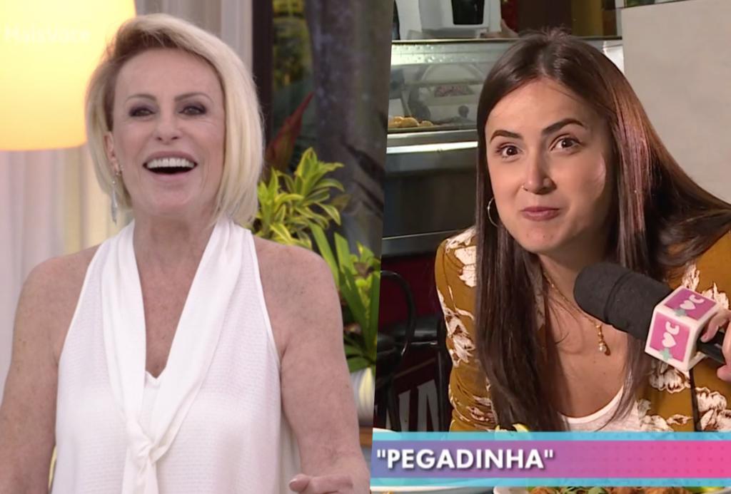 Mari Palma comeu comida inacreditável e Louro José não perdoou no Mais Você de Ana Maria Braga na Globo e fez piada suja