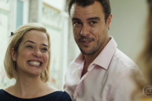 Paloma Duarte (Lígia) e Joaquim Lopes (Joaquim) em cena de Malhação: Toda Forma de Amar (Foto: Reprodução/Globo)