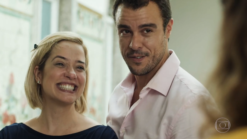 Paloma Duarte (Lígia) e Joaquim Lopes (Joaquim) em cena de Malhação: Toda Forma de Amar, que tem bom início no ibope (Foto: Reprodução/Globo)