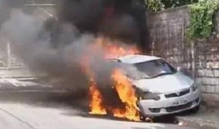 Record TV é alvo de atentado, corpo de bombeiros é acionado e o pior acontece Foto: R7/Folha Vitória