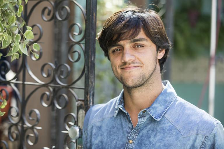 O ator Felipe Simas chorou com decisão da Globo (Foto: Divulgação(