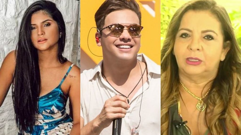 Mileide Mihaile, Wesley Safadão e Dona Bill (Foto: Montagem/TV Foco)